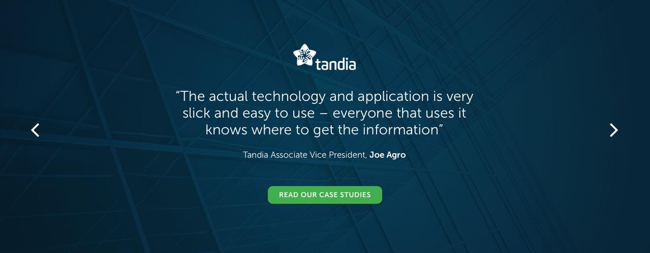 Tandia Business Intelligence Banking Case Study