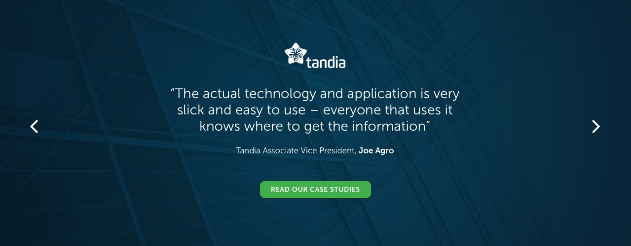 Tandia Business Intelligence Banking Case Study